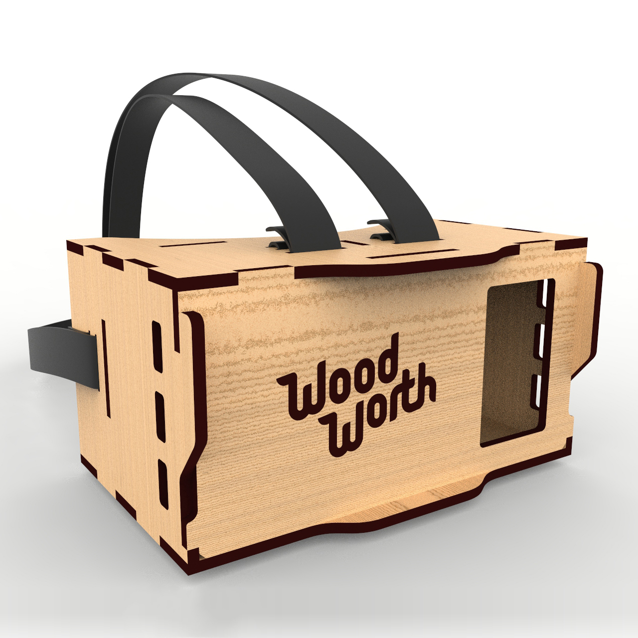 Plywood VR-glasses