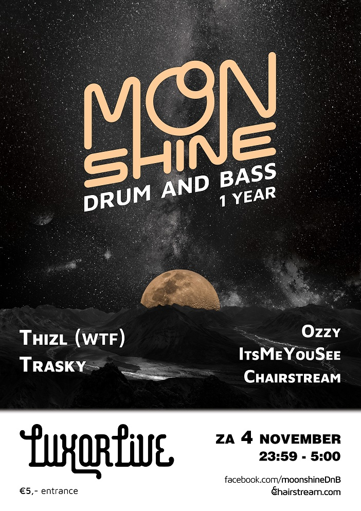 Moonshine logo and posters